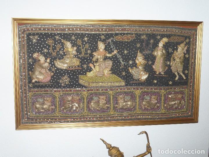 TAPIZ TAILANDÉS (Arte - Étnico - Asia)
