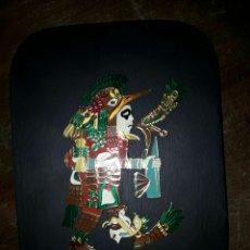 Arte: PLACA DEL DIOS AZTECA HUITZILOPOCHTLI. Lote 78445638
