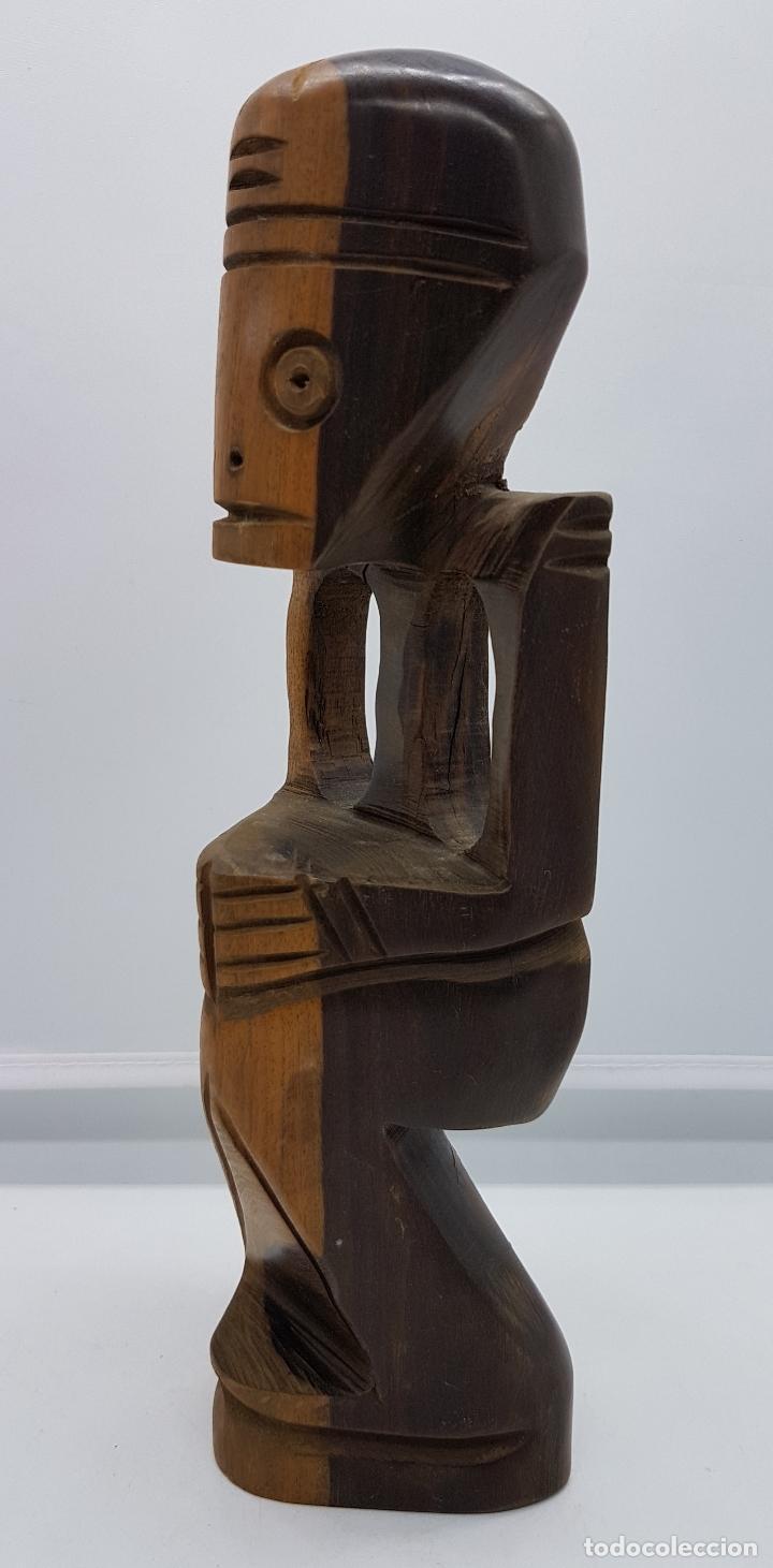 Arte: Escultura tallada en madera de rio hecha a mano en república dominicana, Punta cana - Foto 2 - 80087841