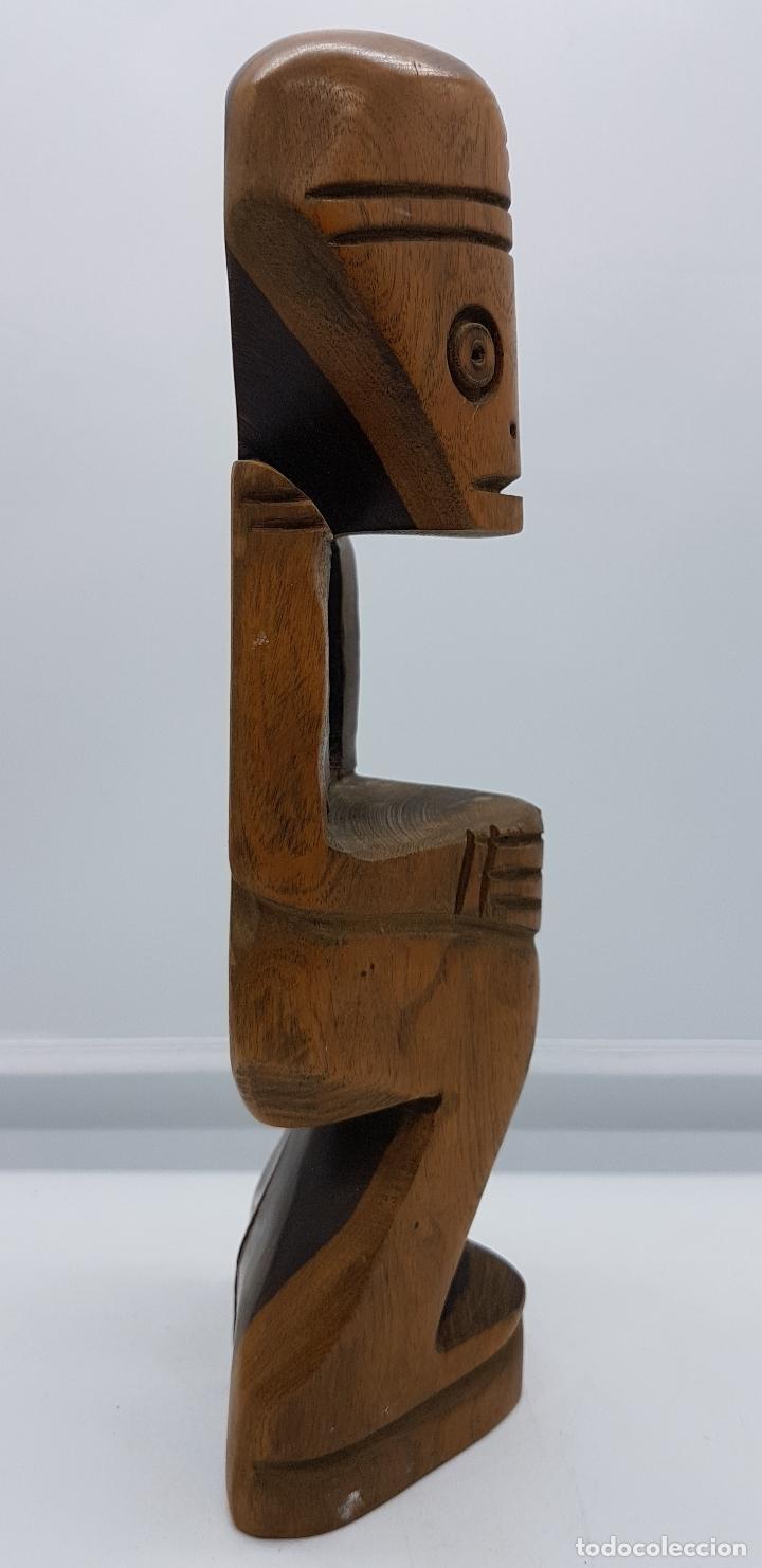 Arte: Escultura tallada en madera de rio hecha a mano en república dominicana, Punta cana - Foto 4 - 80087841