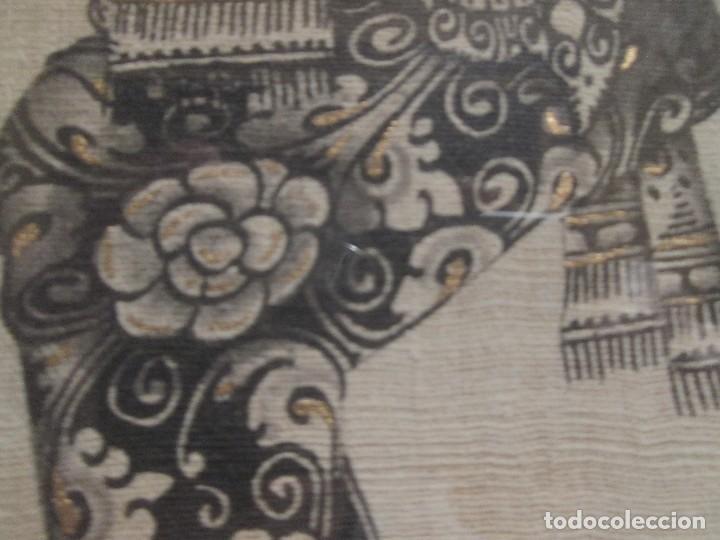 Arte: dos cuadros orijinales indonesios = bali batuan firma badung - Foto 5 - 81598148
