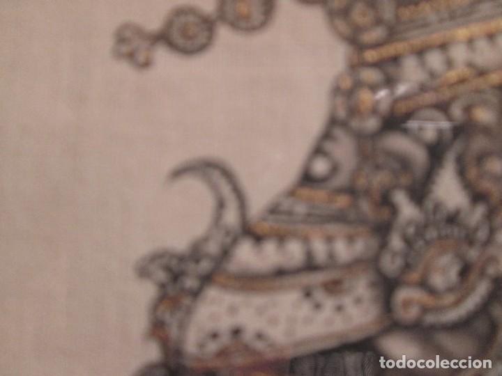 Arte: dos cuadros orijinales indonesios = bali batuan firma badung - Foto 9 - 81598148