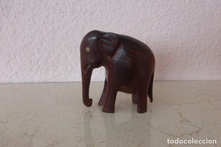 ELEFANTE DE MADERA (Arte - Étnico - Asia)