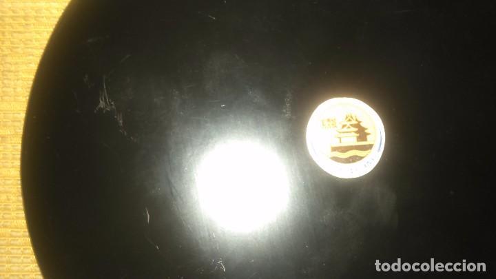 Arte: Antiguo plato de cinabrio med.17cm miren fotos - Foto 4 - 101323010