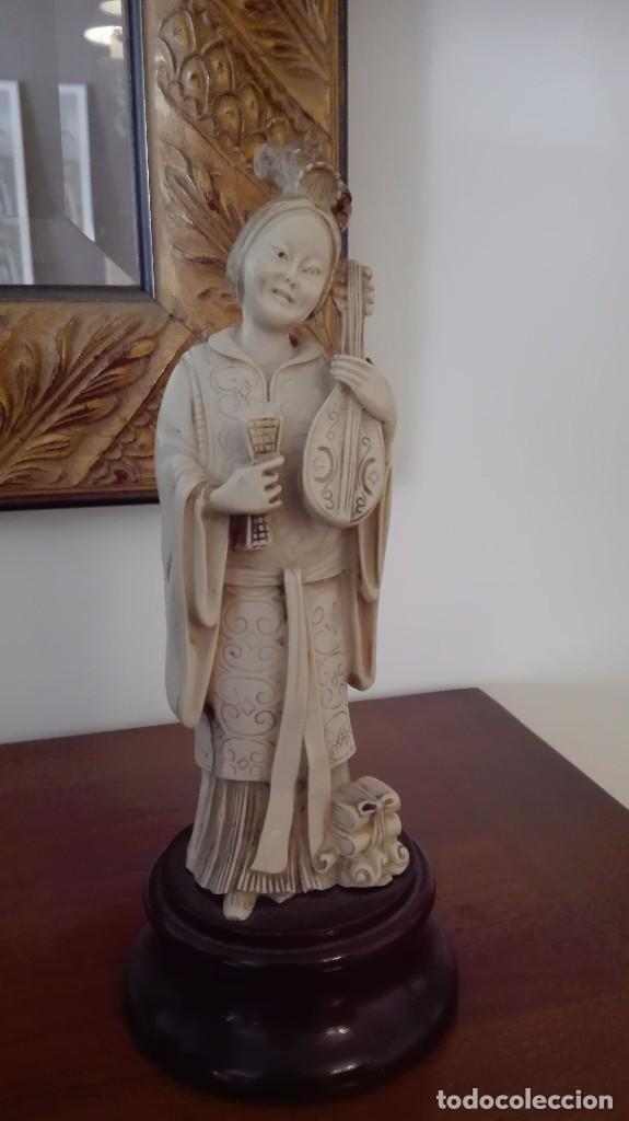 DAMA CHINA (Arte - Étnico - Asia)
