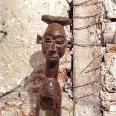 Arte: TAMBOR AFRICANO , CONGO. Lote 83503112