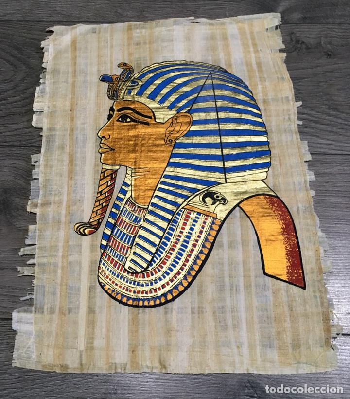 ANTIGUO PAPIRO NATURAL (Arte - Étnico - África)