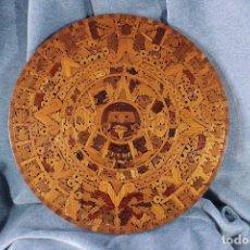 Arte: PIEDRA DEL SOL. CALENDARIO AZTECA. CUAUHXICALLI. . Lote 86365852