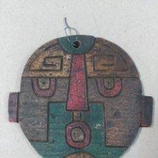 Arte: MASCARA DE CERAMICA. CHILE. Lote 87243752
