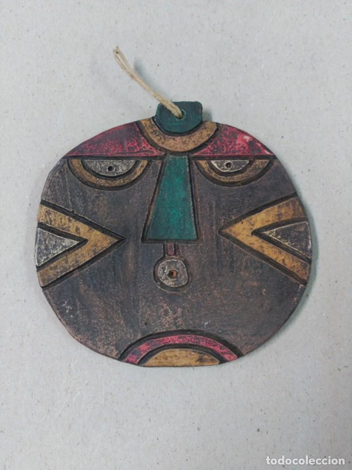 MASCARA DE CERAMICA. CHILE (Arte - Étnico - América)