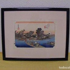 Arte: ESTAMPA JAPONESA. Lote 87371136