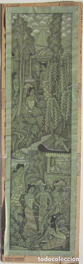 Arte: Antigua tela pintada a mano firmada - Foto 2 - 93999460