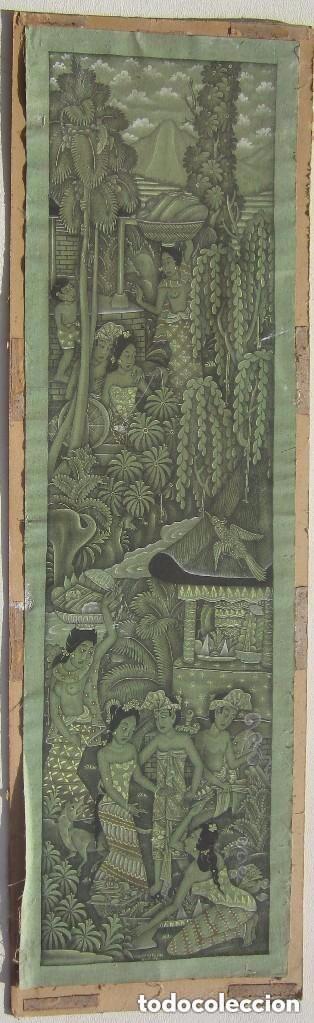 Arte: Antigua tela pintada a mano firmada - Foto 3 - 93999460