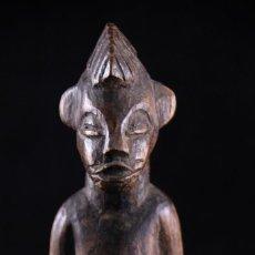 Arte: ANTIGUO FETICHE AFRICANO SENUFO, DE LA COSTA DE MARFIL, ORIGINAL. Lote 268399714