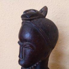 Arte: ESCULTURA AFRICANA. ETNIA BAULE. COSTA DE MARFIL. Lote 94754923