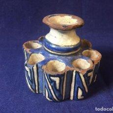Arte: MEJMA TINTERO MARRUECOS S XVIII XIX FEZ ESCUELA CORAN MADRASA COPISTA ILUMINADOR 10 X 11 CMS.. Lote 94932059