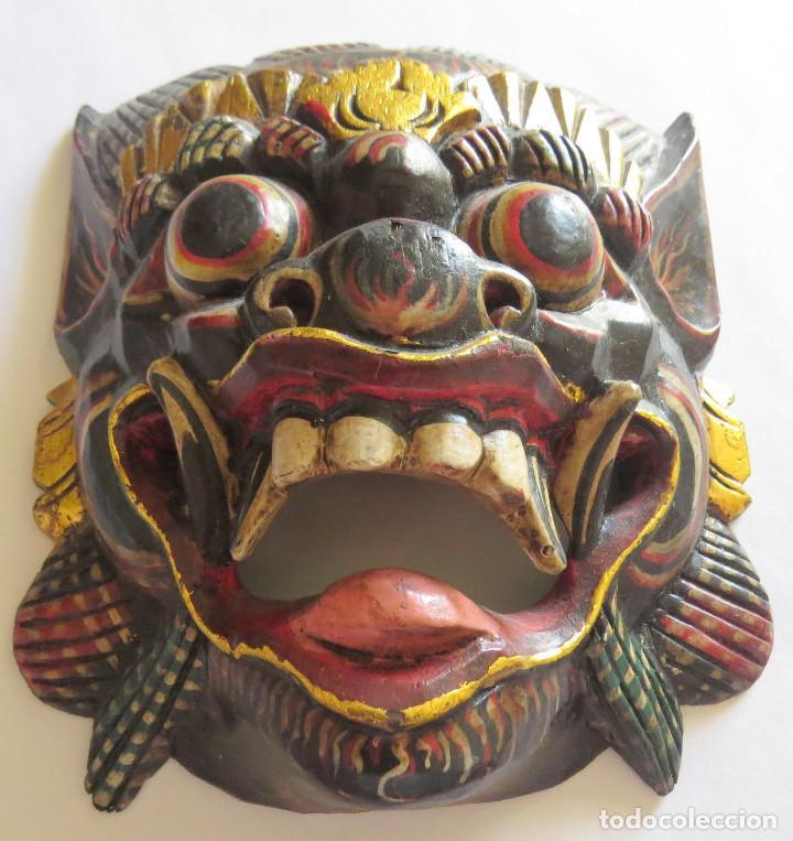MASCARA BALI INDONESIA KUMBA KARNA WAYANG WONG (Arte - Étnico - Oceanía)