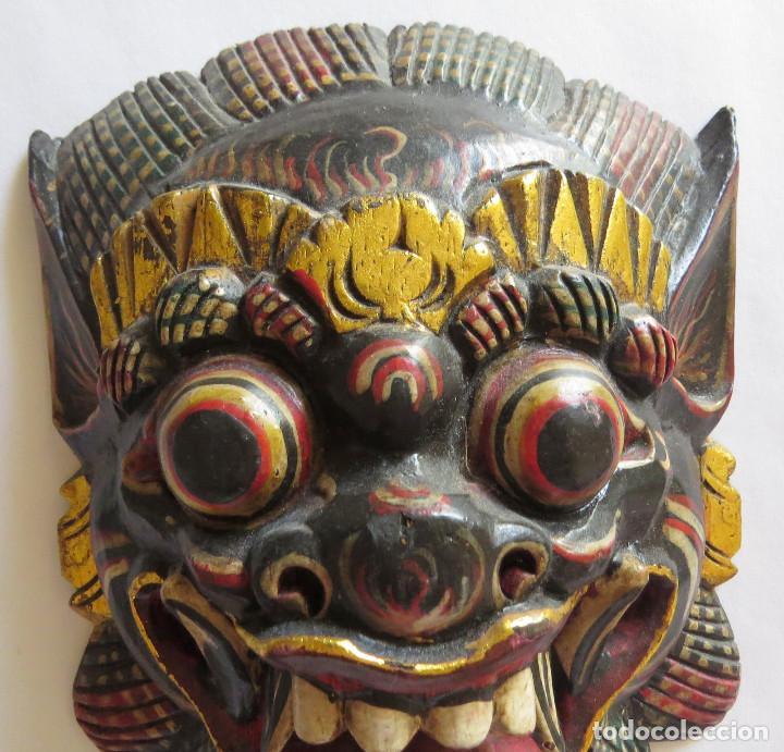 Arte: MASCARA BALI INDONESIA KUMBA KARNA WAYANG WONG - Foto 2 - 95282111