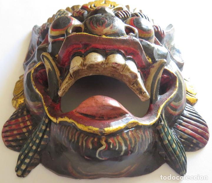 Arte: MASCARA BALI INDONESIA KUMBA KARNA WAYANG WONG - Foto 4 - 95282111