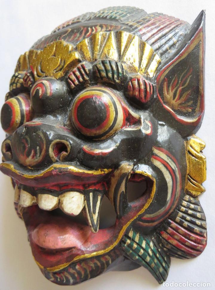 Arte: MASCARA BALI INDONESIA KUMBA KARNA WAYANG WONG - Foto 5 - 95282111