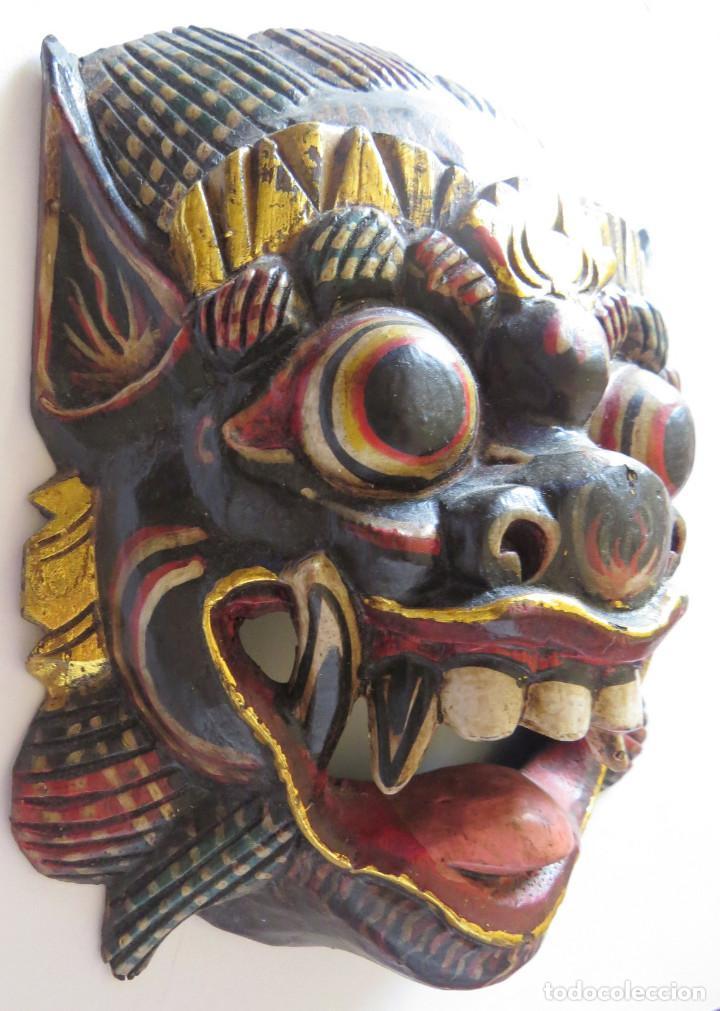 Arte: MASCARA BALI INDONESIA KUMBA KARNA WAYANG WONG - Foto 6 - 95282111