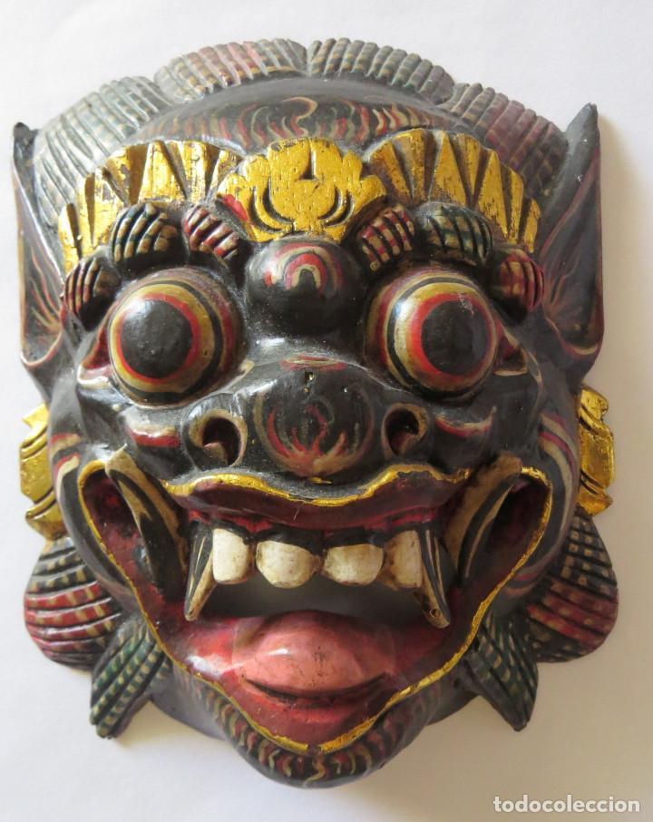 Arte: MASCARA BALI INDONESIA KUMBA KARNA WAYANG WONG - Foto 7 - 95282111