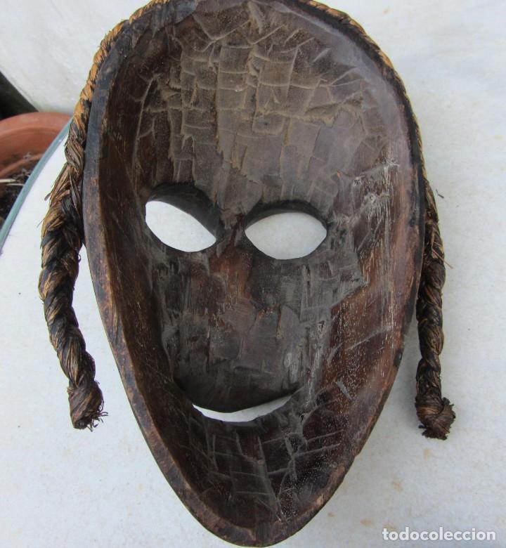 Arte: máscara tribal africana. Dan Costa de Marfil? - Foto 2 - 95625691