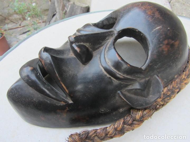 Arte: máscara tribal africana. Dan Costa de Marfil? - Foto 3 - 95625691