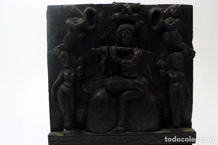 Arte: Plafón artesonado oriental tallado en madera -Siglo XIX - Foto 5 - 97158507