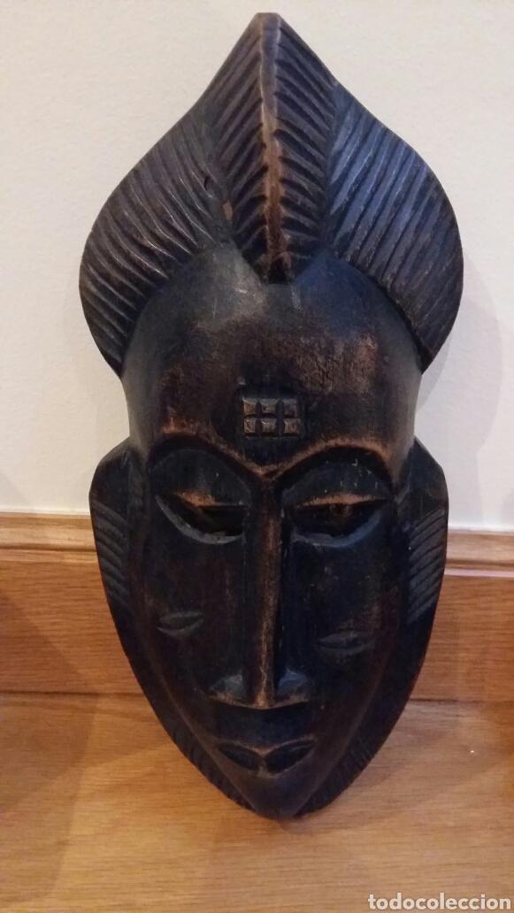 MÁSCARA AFRICANA. (Arte - Étnico - África)