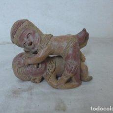 Arte: ANTIGUA ESCULTURA EROTICA EN TERRACOTA, DE AMERICA LATINA. DE AÑOS 60 - 70. Lote 98526815