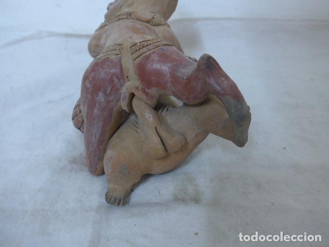 Arte: Antigua escultura erotica en terracota, de america latina. De años 60 - 70 - Foto 4 - 98526815