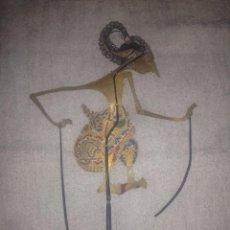 Arte: ANTIGUA MARIONETA JAVANESA PARA TEATRO DE SOMBRAS,CAREY Y PIEL SIGLO XIX. Lote 99416359