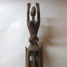 Arte: MASCARA DOGON. TALLA ARTE ÉTNICO AFRICANO. MALI. ÁFRICA.. Lote 101713791