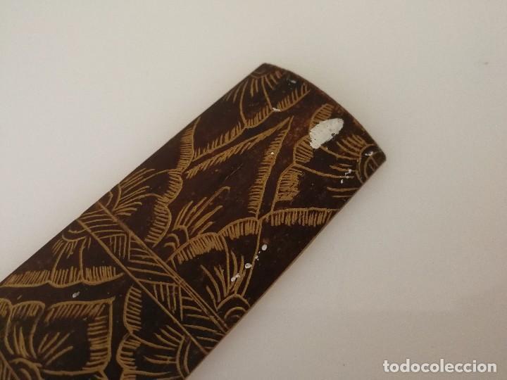 Arte: Dibujo sobre madera - Arte de Bali - 49 cm - Foto 5 - 102816443