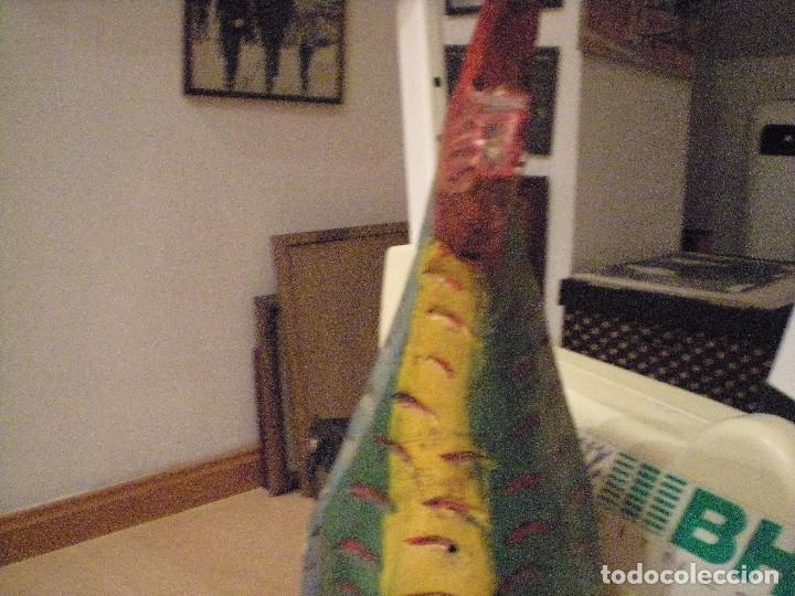 Arte: ANTIGUA MÁSCARA MEXICANA (mejicana) TALLADA Y PINTADA A MANO. COMPRADA EN MÉXICO HACE CASI 50 AÑOS - Foto 2 - 104550887