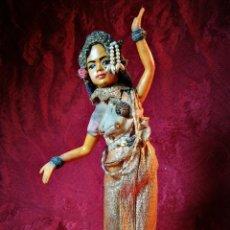 Arte: ANTIGUA Y RARA MUÑECA DE CERA BAILARINA CIRCA 1900-20 TAILANDIA- DOLL DANCING THAI WAX. Lote 108860735