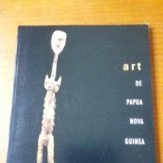 Arte: CATÀLEG D ART DE PAPUA NOVA GUINEA PUBLICA FUNDACIÓ CAIXA DE CATALUNYA I FUNDACIÓ FOLCH 1996 ARTE. Lote 109361267