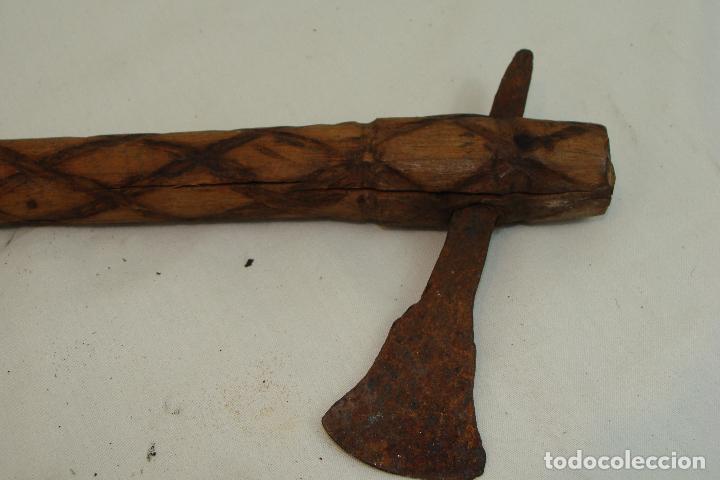 Arte: Utensilio africano de madera tallada - Foto 5 - 109465691