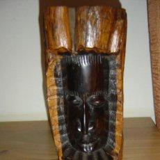 Arte: TALLA AFRICANA EN MADERA. DE MI COLECCIÓN. Lote 110821479