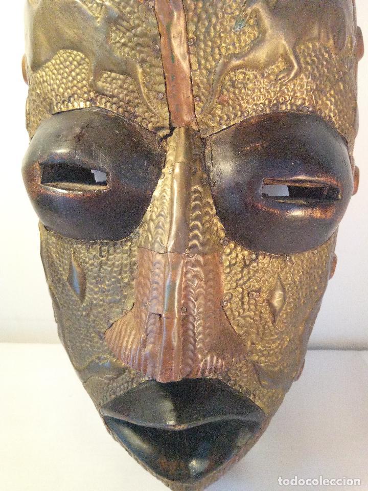Arte: Antigua màscara africana - Foto 2 - 111522819