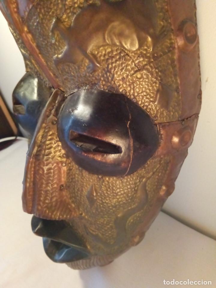 Arte: Antigua màscara africana - Foto 3 - 111522819