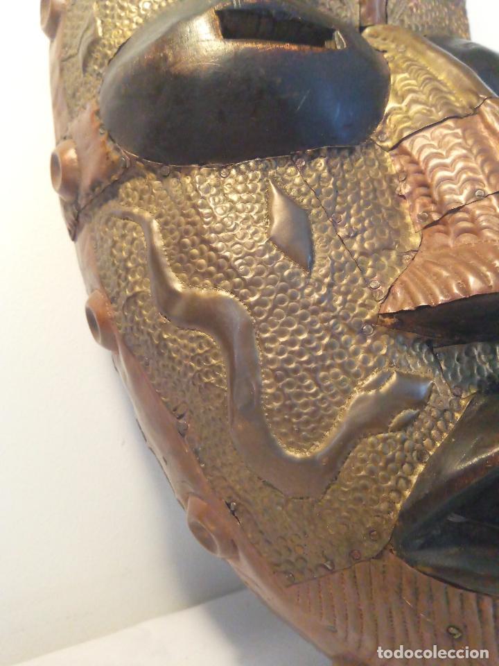 Arte: Antigua màscara africana - Foto 4 - 111522819