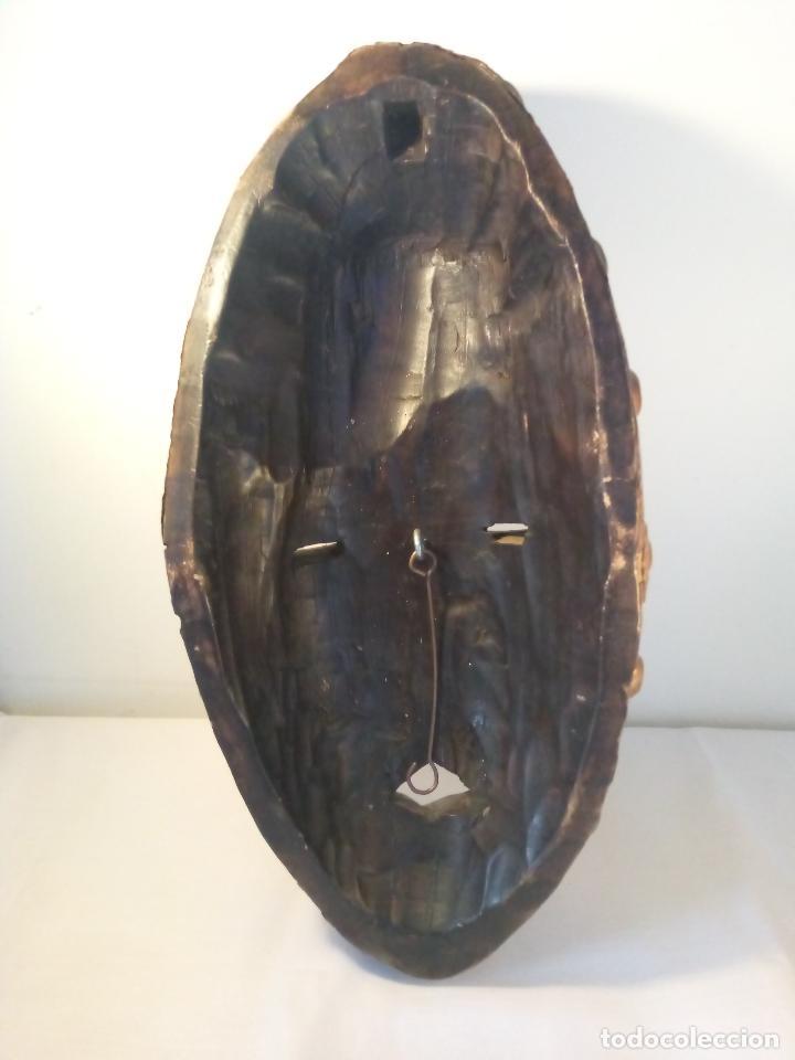 Arte: Antigua màscara africana - Foto 5 - 111522819