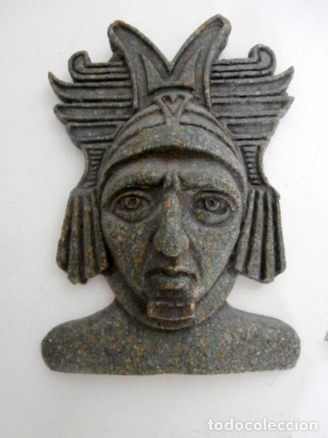 MASCARA COLGADOR AZTECA (Arte - Étnico - América)