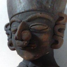 Kunst - Figura vasija posiblemente precolombina realizada en barro cocido - 111769923