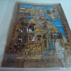 Arte: PAPIRO EGIPTO.FABRICADO POR DELTA PAPYRUS FACTORY.. Lote 112677935