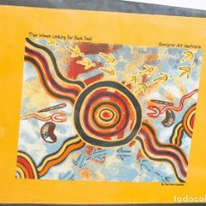 Arte: DIBUJO DEL ARTISTA ,ABORIGEN AUSTRALIANO, JHON SMITH GUMBULA. Lote 115032219