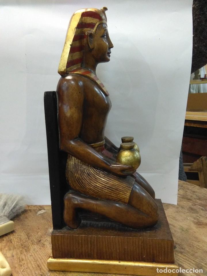 Arte: escultura egipcia de madera - Foto 2 - 115098891