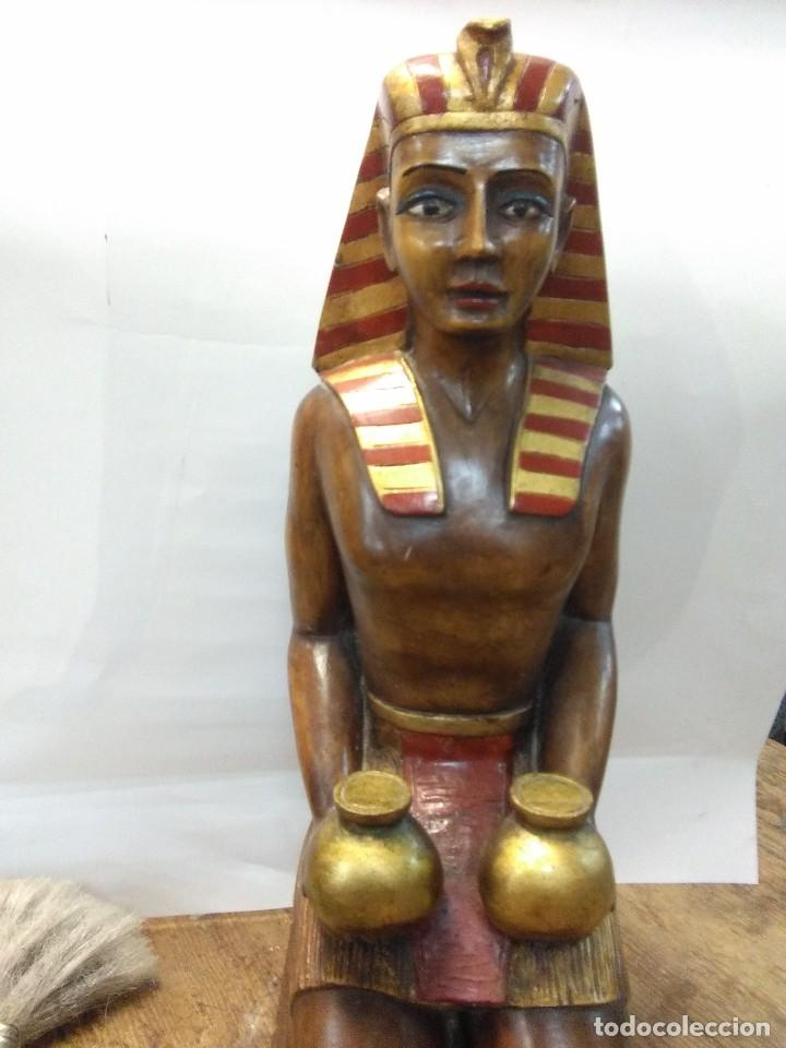 Arte: escultura egipcia de madera - Foto 4 - 115098891